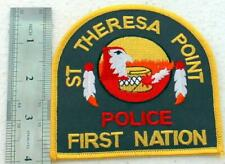 Canada Patch police FIRST NATION TRIBAL 4 INCH