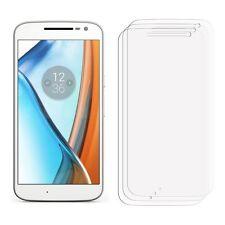 2 x Clear LCD Screen Protector Film Saver For Mobile Phone Motorola Moto G4