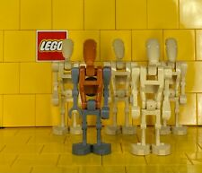 Lego Star Wars Battle Droids Set Of 5 With Rocket Battle Droid
