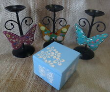 Butterfly Candles and Box Set of 4 pieces