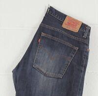 RARE Vintage Levi's 516 04 Blue Bootcut Flare Men's Jeans W34 L29