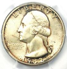 1932-D Washington Quarter 25C - Certified PCGS MS62 (BU UNC) - Key Date Coin!