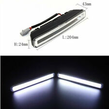 2x 20W COB 6000K Xenon White LED Light Aluminum Alloy DRL Driving Fog Lamp Light