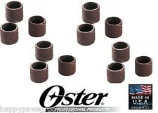 12 pc Oster Grooming Nail Grinder Trimmer Fine&Medium Sanding Bands Gentle Paws