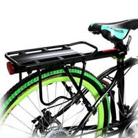 Bike Bicycle Rear Rack Fender Quick Release Luggage Seat Post Pannier Carrier