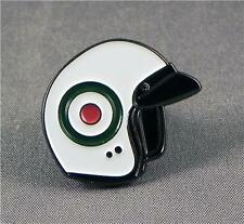 Metal Enamel Pin Badge Brooch MOD Italy Italian Helmet Target Crash Hat