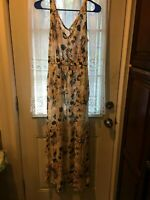 Lucky Brand Sundress, size XS, Floral maxi , New without tags