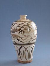 Chinese Antiques Song To Yuan Dynasty Ci Zhou vase 宋元磁州窯梅瓶