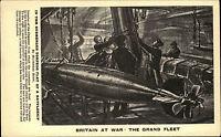 Seefahrt Schiffe Marine Militär England Britain at War Torpedo Grand Fleet ~1940
