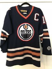 2489dcce3 EDMONTON OILERS CANADA ICE HOCKEY RARE NHL SHIRT JERSEY KOHO ORIGINAL Sz. M   13