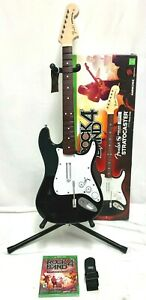 IOB Xbox One Rock Band 4 Fender Stratocaster Wireless Guitar *Strap*NEW RB4 Game