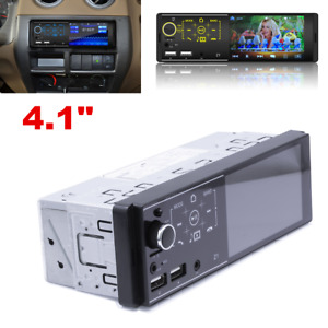 4.1 Inch 1 DIN Car MP5 Player Bluetooth Touch Screen Stereo Radio Head Unit