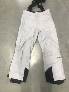 Columbia Mens LIGHT GREY Nylon Polyamide Ski Pants F3 SM8123 Large