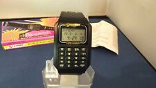 SYSTEMA UZ035 DATABANK DIGITAL ALARM SCHEDULE CALCULATOR WATCH NEW (NOS) BOXED