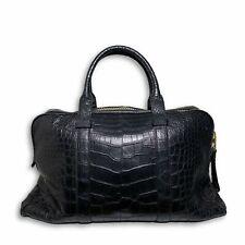 Tom Ford Buckley Alligator Black Briefcase