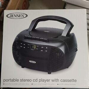 ✅ Jensen Cd,  Portable Stereo Cassette Recorder & Cd Player With Am/fm Radio,