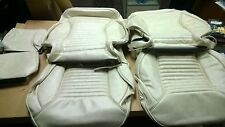 1967 Mustang Touring II (Procar) Front Seat Upholstery - Parchment