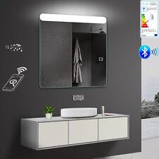 LED Badezimmerspiegel Wandspiegel Warm/Kaltlicht Bluetooth Lautsprecher  SMY81X80