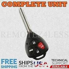 Replacement for 2007 2008 2009 2010 Toyota Camry Keyless Remote Car Key Fob