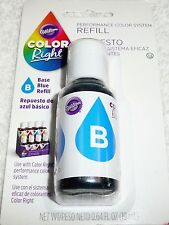 Wilton Color Right Performance Color System REFILL BASE BLUE 0.64 FL OZ (19 mL)