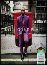 Ozwald Boateng on Savile Row 1-page clipping 2000 ad for Tanqueray