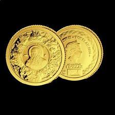 TOKELAU 1 dollar 2014 oro APOSTOL JACOBO - SAN JACOBO