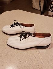NEW MEN'S ADLER HANDCRAFTED STYLISH WHITE LEATHER SHOES SZ. 8.5 M GORGEOUS👍