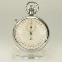 Stoppuhr Taschenuhr Herren Uhr Uhren no spindel chronometer stop watch duplex