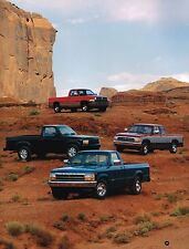 1994 Dodge DAKOTA PickUp Truck Brochure w/ Color Chart:SUPER,SPECIAL,SPORT,SLT,