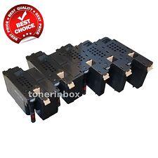 5 Pack Color Toner Cartridge Set for Dell E525w E525 Printer 593-BBJX HIGH YIELD