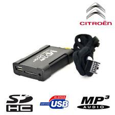 Boitier USB SD AUX MP3 Citroën C2 C3 C4 C5 C8 DS3 DS4 Jumpy Jumper ap 2006