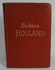 Baedeker Holland 1927