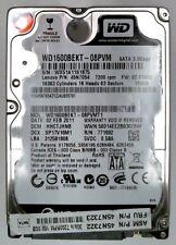 160 GB SATA WESTERN DIGITAL SCORPIO BLACK WD 1600 BEKT - 08 pvmt 1 7200 RPM
