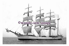rs0100 - American Sailing Ship - Johnena , built 1892 - photograph