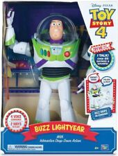 NEW TOY STORY 4 BUZZ LIGHTYEAR With Interactive Drop-Down Action