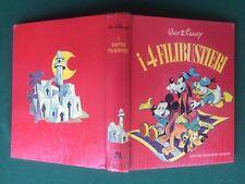 Walt Disney I 4 FILIBUSTIERI Mondadori Carosello (1962) Libro Cop. Rigida