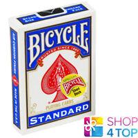 "BICYCLE MAGIC SHORT 1/16"" SPIELKARTEN KARTEN ZAUBERTRICKS BLAU STANDARD USPCC"