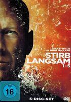 DVD-BOX NEU/OVP - Stirb Langsam 1-5 - Bruce Willis