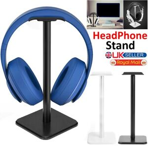 Universal Aluminum TPU Earphone Gaming Headset Holder Hanger Headphone Stand