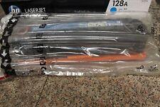 GENUINE NEW  HP CE321A 128A CYAN TONER CARTRIDGE CM1415 IN HP BUBBLE BAG