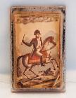 19th Century Glass Paperweight French Emperor Napoleon Bonaparte Waterloo