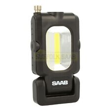 SAAB GENUINE COB LED TORCH LIGHT WITH MAGENT OFFICIAL MERCHANDISE TOOL RARE