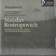 (CD)Shostakovich: Cello Concertos Nos 1 & 2 / Mstislav Rostropovich-Moscow Orch.