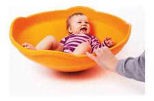 Mini Top Gonge Kreisel Kunststoff orange Kleinkinder Babys Gleichgewicht Balance