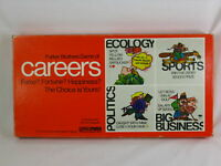 Careers 1971 Board Game Parker Brothers 100% Complete Excellent Plus Condition ^