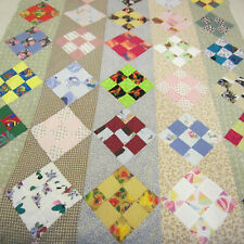 """Unfinished Quilt Top With Fabric to Complete, Currently 98"""" x 40"""""""