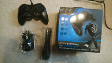 Gioteck VX1 Starter Kit Playstation 3 / PC Gamepad Controller Headset HDMI Cable