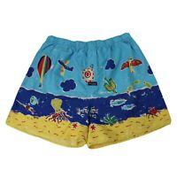 Mitch Dowd Cotton Boxer Shorts Mens Size L Beach Scene