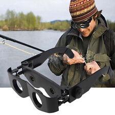 Portable Stylish Glasses Style Telescope Magnifier Binoculars For Fishing Hiking