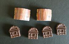 HEROQUEST mobilier coffre x2 - treasure chest MB GAMES WORKSHOP original